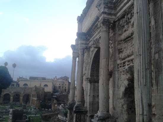 Arco di Settimio Severo al foro romano. Credits: sognirossi.