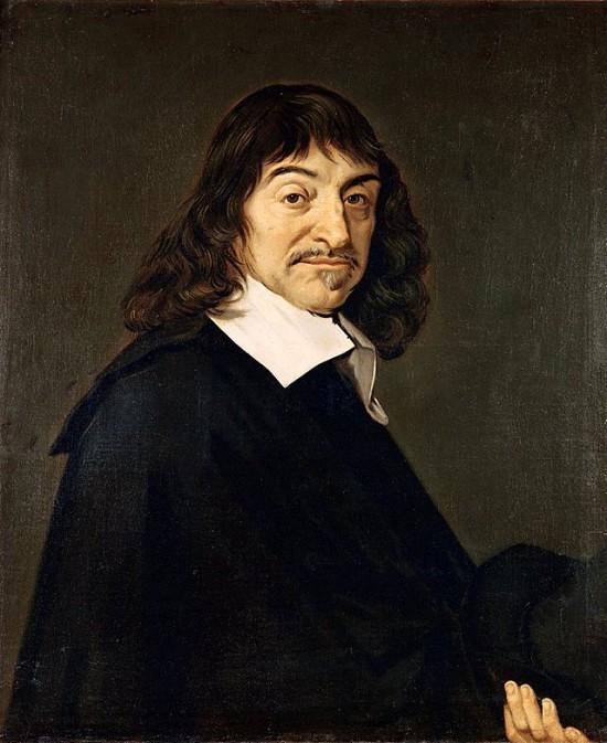 Ritratto di René Descartes di Frans Hals.