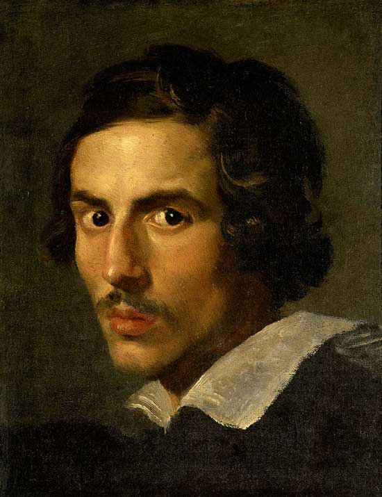 Gian Lorenzo Bernini - self-portrait.