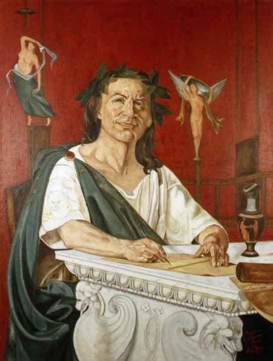 Ritratto di 'Orazio' di Giacomo Di Chirico.
