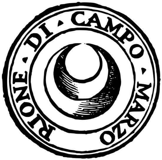 Simbolo rione Campo Marzio