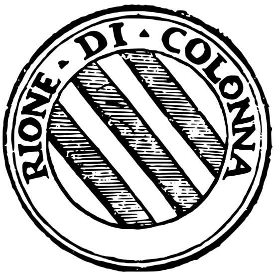 Simbolo del Rione Colonna
