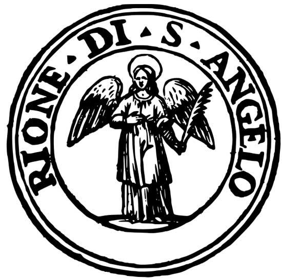 Simbolo del rione Sant'Angelo