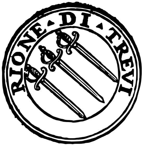 Simbolo del Rione Trevi