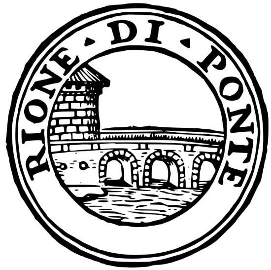 Simbolo del Rione di Ponte