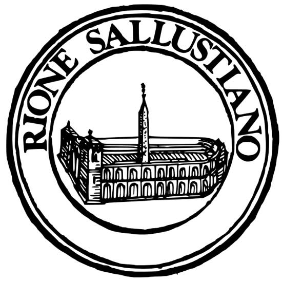 Simbolo del rione Sallustiano