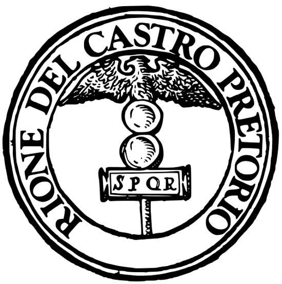 Simbolo di Castro Pretorio a Roma