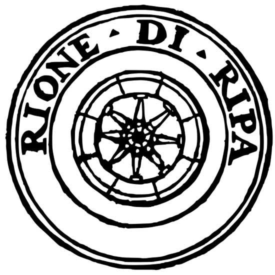 Simbolo del rione di Ripa