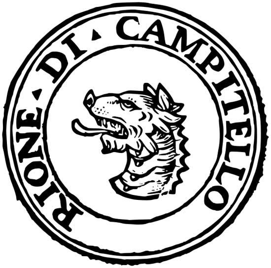 Simbolo del Rione Campitelli