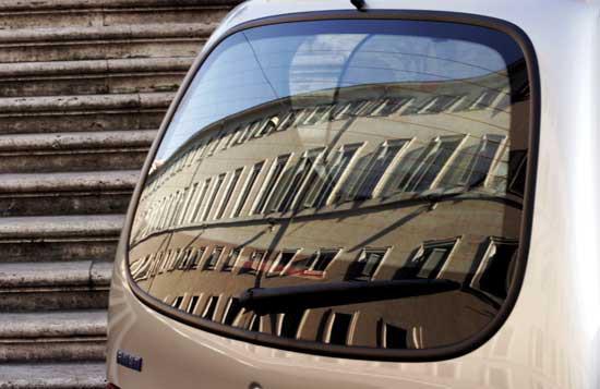 macchina a Roma