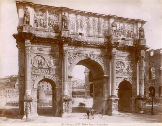Brogi Giacomo - Arco di Costantino